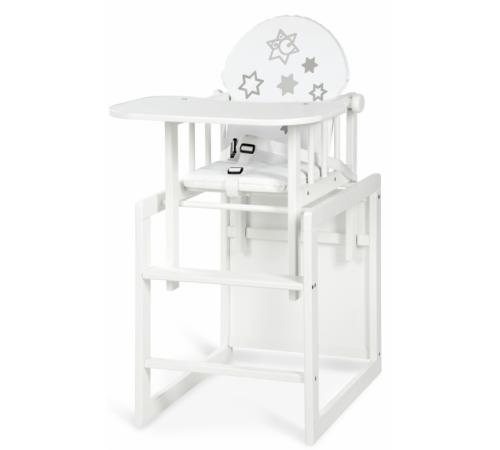 Детское питание в Молдове klups Деревянный стул трансформер agnieszka iii звёзды белый
