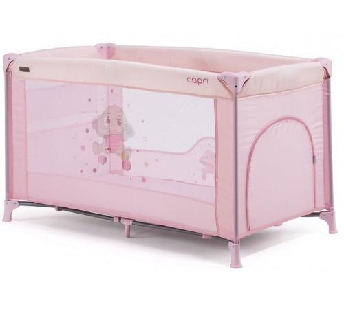 chipolino Манеж capri kosik02104pp розовый