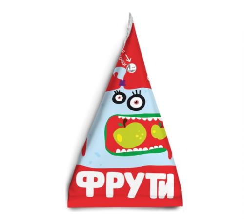 """Детское питание в Молдове """" Маленькое счастье """" . Пюре  """"Фрути"""" яблоко 65 г  (3+)"""