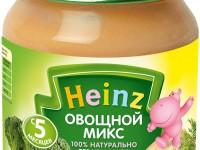 heinz Пюре Овощной Микс 120 гр. (5м+)