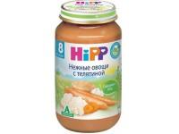 hipp 6413 Нежные овощи с телятиной 220 gr. (8m+)