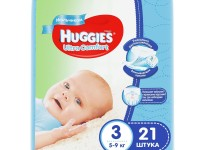 huggies ultra comfort boy 3 (5-9 kg.) 21 buc.