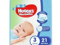 huggies ultra comfort boy 3 (5-9 кг.) 21 шт.