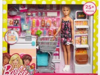 """barbie frp01 Набор с куклой """"В супермаркете"""""""