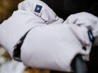 """womar zaffiro mănuși pentru cărucior """"lama organic grey"""""""