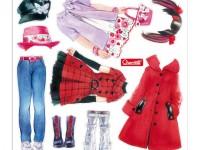 "quercetti 2930 Игровой набор ""fashion design"""