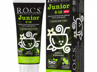 """r.o.c.s. Зубная паста для подростков """"Кокос и Ваниль"""" (6-12) 475925"""
