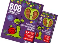 Натуральные Яблочно-Сливовые Конфеты ТМ bob snail (Улитка БОБ) 60 г