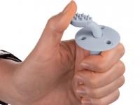 canpol 51/550 Силиконовая щетка для зубов с ограничителем в асс.