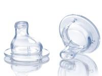 nuby id1538 Носик-непроливайка для бутылочек с широким горлом (6м.+)