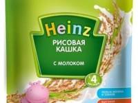 heinz Рисовая кашка с молоком (4м+)****