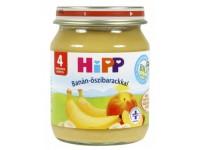 hipp 4242 piure piersici cu banane 125 gr.(4m+)