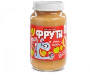 """"""" Маленькое счастье """" . Пюре  """"Фрути"""" яблоко банан 180 г  (6m+)"""