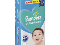 pampers active baby 4+ (10-15 кг.) 62 шт.