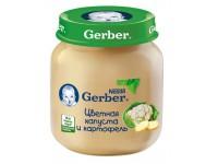 gerber Пюре цветная капуста+картофель 130gr.(5+)*****