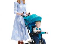 kinderkraft Трицикл aston  синий