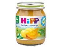 hipp 4043 piure dovleac cartofi 125 gr. (4m+)