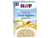 """hipp 3311 terci cu lapte din grâu cu fulgi de ovăz """"fructe şi iaurt"""" (8m+) 250 gr."""