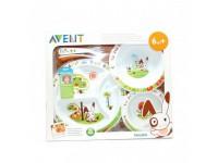 avent scf716/00 Набор детской посуды (6m+) 5шт.