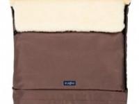 "womar zaffiro sac de dormit s20 sleep&grow ""wool chocolate"""