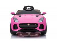 "chipolino Машина на аккумуляторе ""jaguar svr"" elkjsvr214p розовый"