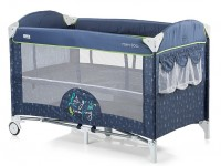 chipolino Кроватка-манеж  merida kosimer0182bi синий