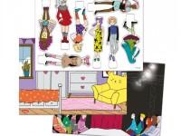 "quercetti 2323 Игровой набор fashion show"""