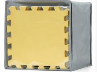 kinderkraft Коврик-пазлы luno желтый