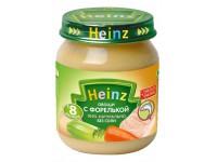heinz Овощи с форелькой 120gr.