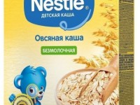nestle Каша овсяная безмолочная 200 гр. (5 м+)
