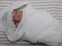 dormi baby Полотенце для крещения с капюшоном