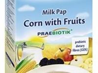 hipp 2953 terci cu lapte din porumb cu fructe si prebiotice (6m+) 250 gr.