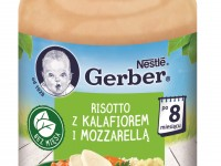 "gerber Пюре ""Ризотто-цветная капуста-моцарелла"" (8 m+) 190 гр."