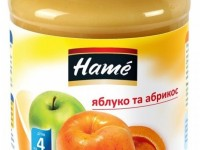 hame piure din mere cu caise 190gr. (4m+)