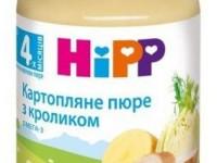 hipp 6173 Картофельное пюре с кроликом 190gr. (4m+)