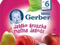 gerber Пюре  «Яблоко-груша-малина-черника» 90 гр. (6+)