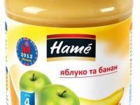 hame Пюре Яблоко с бананом 190gr. (4m+)