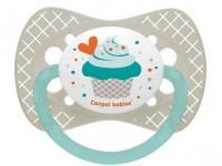 """canpol 23/283 Пустышка силиконовая симметричная """"cupcake"""" (6-18m) 1 шт."""