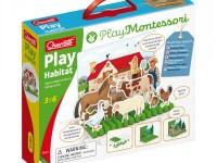 "quercetti 621 montessori Игровой набор ""Ферма"""