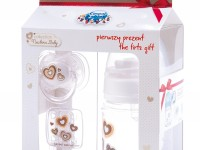 canpol babies 1/0101 Набор newborn baby (бутылочка, пустышка, держатель)