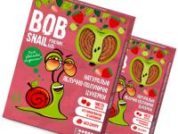Натуральные Яблочно-Клубничные Конфеты ТМ bob snail (Улитка БОБ) 60 г