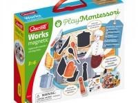 """quercetti 623 montessori Игровой набор """"Магнитные Работы"""""""