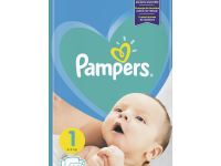 pampers new baby 1 (2-5 кг.) 43 шт.