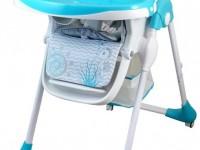 baby mix ur-yq-188 blue Стульчик для кормления