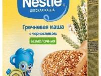 nestle Каша гречневая безмолочная с черносливом 200 гр. (4 м+)
